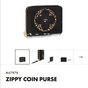 """Louis Vuitton Accessories - Louis Vuitton Jungle Capsule """"Zippy"""" Coin Purse"""